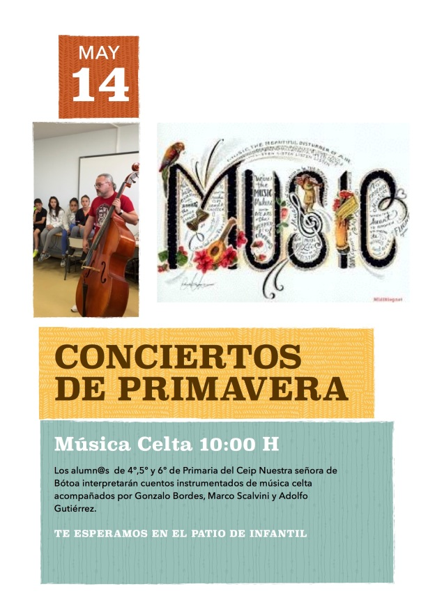 Cartel Musica celta 22